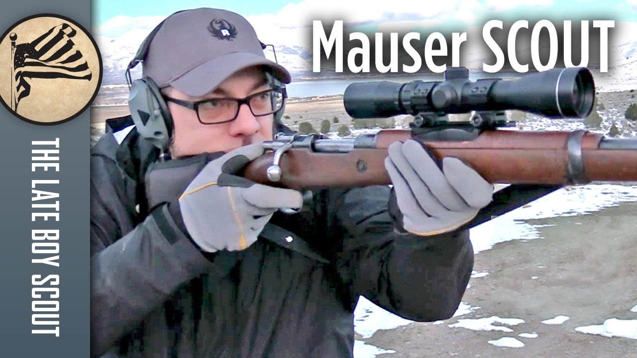 Ultra-Budget Scout Rifle: 1916 Spanish Mauser from J&G Sales