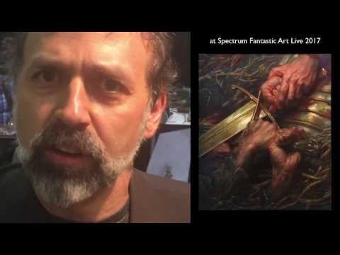 Donato Giancola at Spectrum Fantastic Art Live 2017