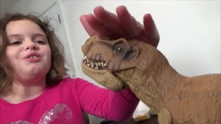 Pet Dinosaur Thinks He Is A Dog & Pees In House