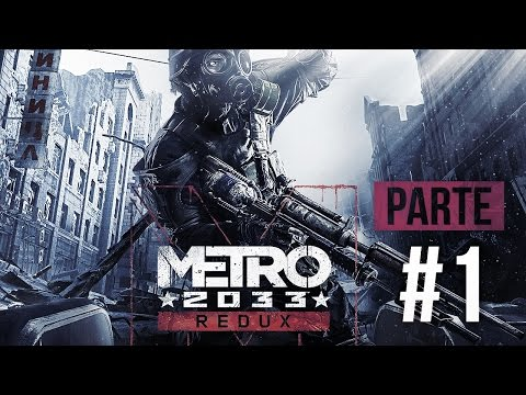 Metro 2033 Redux - Parte 1: Riga Station e Bourbon [ PC - Playthrough PT-BR ]