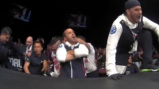 Bisping's Coach Jason Parillo Reacts Gangsta To UFC 199 Title Win