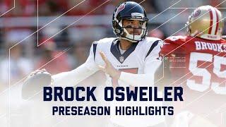 Brock Osweiler Highlights | Texans vs. 49ers | NFL
