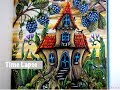 TENDERFUL ENCHANTMENTS   Fairytale House   Time Lapse Coloring