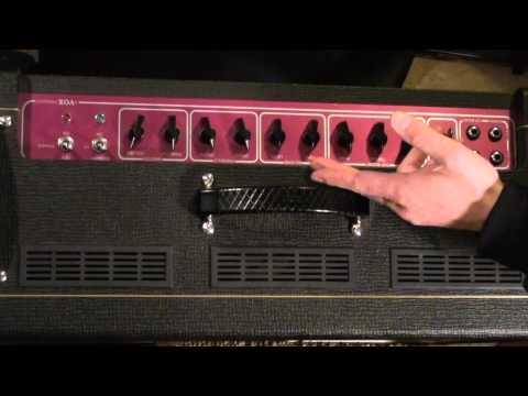 VOX AC30C2 Amplifier Overview