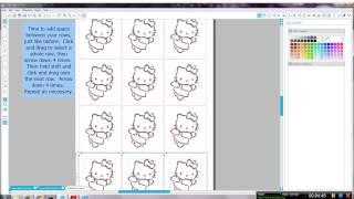 Creating glitter tattoo stencils with Silhouette Studio software