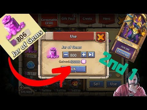 Best $50 Pack On Castle Clash | Opening Some Rewards