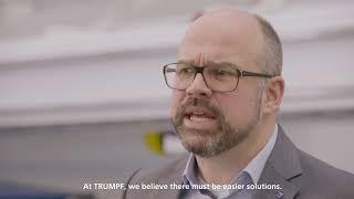 TRUMPF Info to Go: Zero-Microjoint-Philosophy
