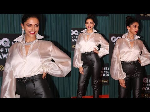 Deepika Padukone looking so hot and stunning for GQ Men of the year awards | ❤
