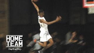High Schooler Dunks From Behind The Freethrow Line!! Shelby McEwen Shuts Down Jordan Dunk Contest