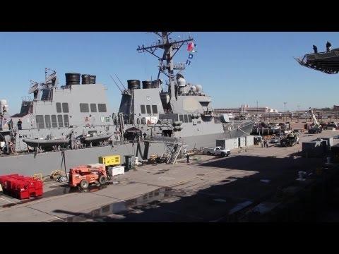 26th Marine Expeditionary Unit Debarks USS Kearsarge