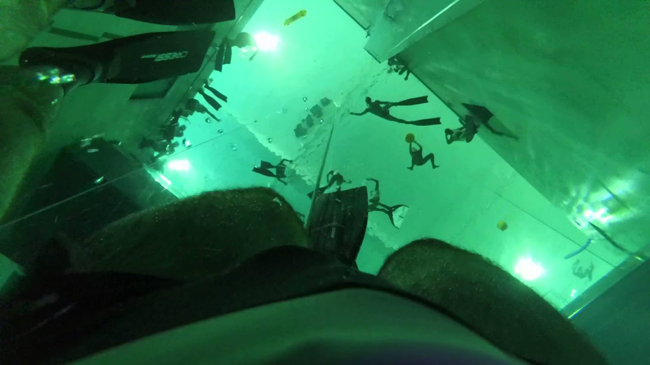 Free Diving At Y-40 Pool