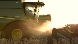 Iowa Corn Harvest, Life Of A Farmer