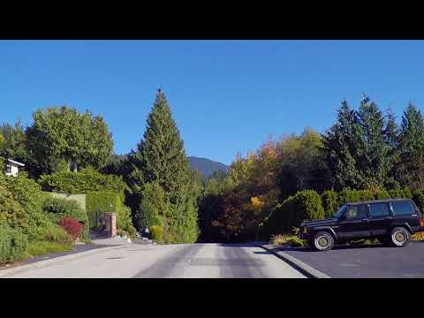 West Vancouver BC Canada - Driving Around British Properties - Luxury Residences/Homes