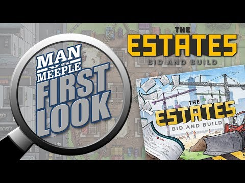 The Estates (Capstone Games) First Look by Man Vs Meeple