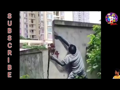 Talented people of World | amazing wall painting | Chinese Artist | street painting