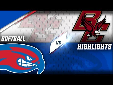 Softball: UMass Lowell vs. Boston College
