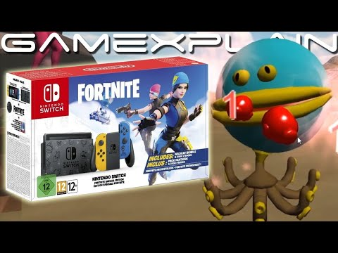 Fortnite Receiving a Limited Edition Nintendo Switch! + A Look at Beta Ring Fit Adventure