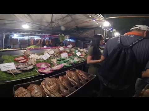 ย่างกุ้ง Myanmar  Chinatown Yangon ถนนสายอาหาร ทะเล Seafood