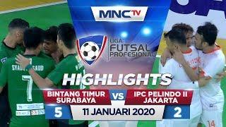 BINTANG TIMUR SURABAYA VS IPC PELINDO II JAKARTA (FT: 5-2) - Highlights Liga Futsal Profesional 2020