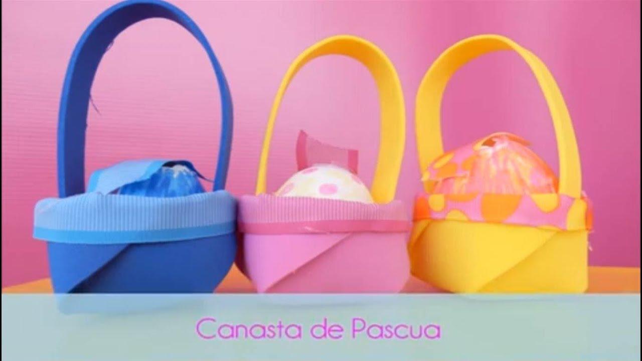 Canasta de Pascua - YouTube