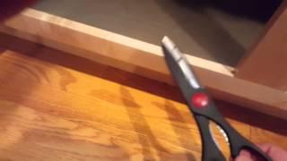 Kitchen Sink Cabinet Liner Fitting