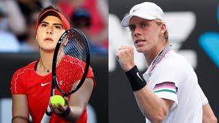 Bianca Andreescu, Denis Shapovalov: The Next Wave Of Canadian Tennis Talent