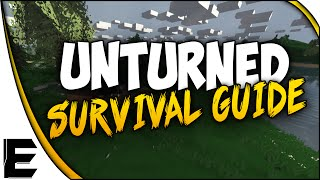 Unturned Crafting Guide ➤ How To Build A Base, Build A House, Build A Garage - Survival Guide - Pt 2