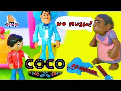 Тайна Коко 2017 Мультфильм COCO - Видео для Детей - Мультик с Игрушками #Игрушки | Май Тойс Пинк