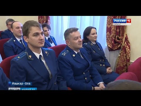 Работников прокуратуры Республики Марий Эл поздравили с профессиональным праздником