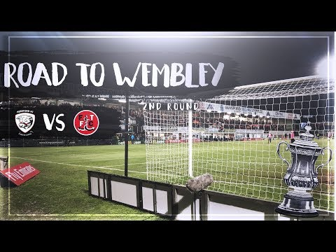 FA CUP ROAD TO WEMBLEY  SECOND ROUND  HEREFORD FC V FLEETWOOD TOWN