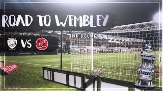 Video FA CUP ROAD TO WEMBLEY - SECOND ROUND - HEREFORD FC V FLEETWOOD TOWN download MP3, 3GP, MP4, WEBM, AVI, FLV Oktober 2018
