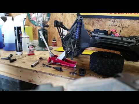 How to Grease and oil your xmaxx bearings