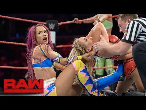 Sasha Banks & Bayley vs. Charlotte & Dana Brooke: Raw, Sept. 19, 2016