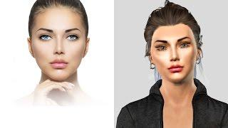 создание 3D Модели по фотографии CrazyTalk 8