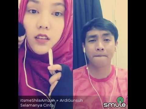 Selamanya Cinta - Shila Amzah & Ardi Gunsuh (Smule Duet)