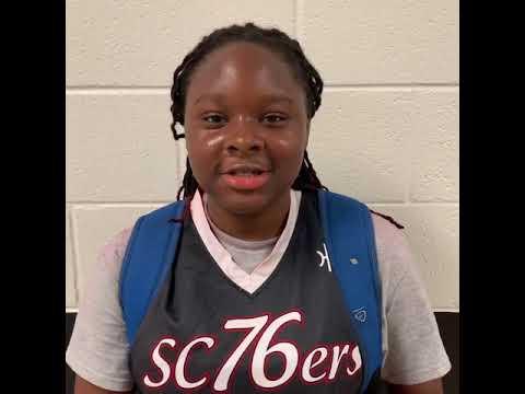 Janiyah Hayward (SC 76ers/Chatham Academy/Savannah, GA) 2023 5'6 F