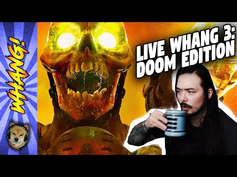 Followup on #CNNBlackmail and The Mist TV Series while Playing DOOM! - Live Whang Episode 3!