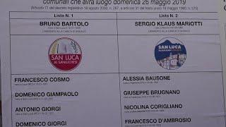 Undici anni senza voto, ora San Luca avrà sindaco: