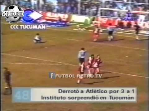 Atl Tucuman 1 Vs Instituto 3 Octogonal Nacional B 1996 Klimowicz