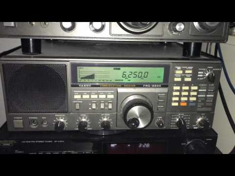Radio Nacional de Guinea Ecuatorial 6250 kHz, Malabo (presumed) back on air