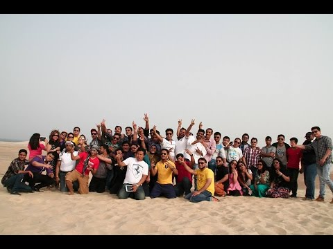 A Desert Safari- Trip In Qatar Of Alzaman Exchange Team