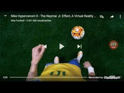 Neymar Jr e Pac man em 360 graus