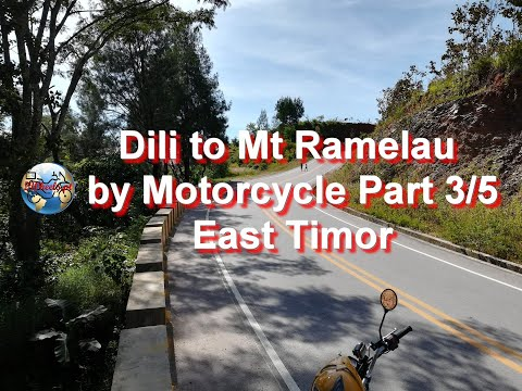 Dili to Mt Ramelau by Motorcycle - Part 3
