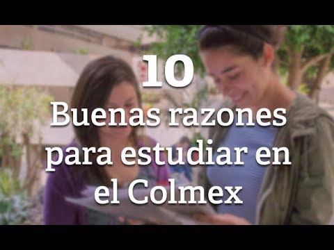 10 Buenas Razones Para Estudiar En El Colmex