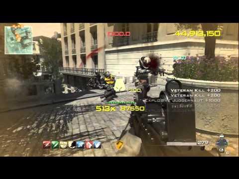 "MW3 ""Chaos Mode"" 100 Million Score - Call of Duty Modern Warfare 3 Gameplay  "