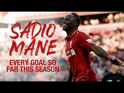 Every Sadio Mane goal so far in the 2018/19 season | Premier League and Champions League