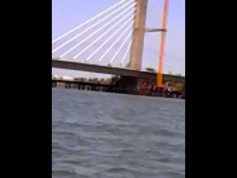 Kigamboni Bridge-The view from a boat