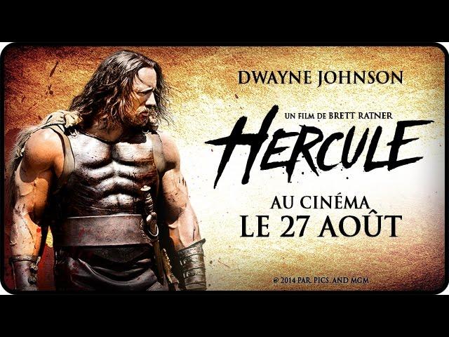 HERCULE avec Dwayne The Rock Johnson - Bande Annonce Officielle VOST