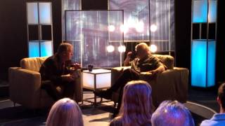 Michael Kay and Rob Reiner Center Stage During Break