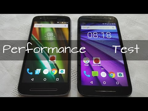 Lenovo Moto E3 2016 VS Moto G3 (Performance Test)